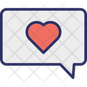 Romantic Chat Icon