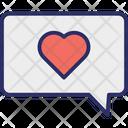 Romantic Chat Loving Chat Romantic Icon
