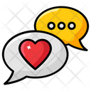 Romantic Chat Love Message Love Sms Icon