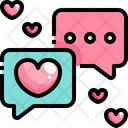Romantic Chat Love Message Love Chat Icon