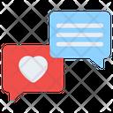 Romantic Chat Love Chat Romantic Message Icon