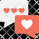 Romantic Chat Icon