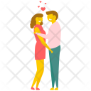 Couple Love Lovers Icon