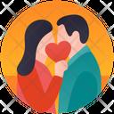 Romantic Couple Romance Valentine Day Icon