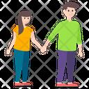 Romantic Couple Spouse Dating Icon