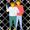 Romantic Couple Icon