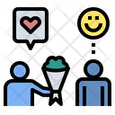 Dating Gift Love Icon