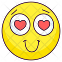 Romantic Emoji Romantic Expression Emotag Icon