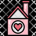 Romantic House Icon