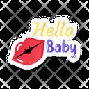 Romantic Lips Icon
