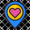 Romantic Location Icon