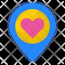Romantic Location Love Location Location Icon