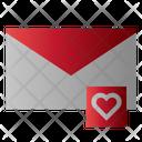 Romantic Mail Icon