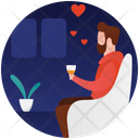Romantic Meeting Icon