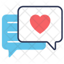 Romantic Message Icon