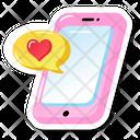 Romantic Message Icon