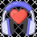 Love Music Romantic Music Listening Music Icon