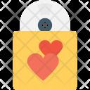 Romantic Music Heart Icon
