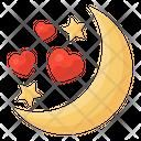 Romantic Night Lovely Night Romantic Nightfall Icon