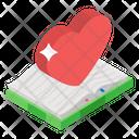 Romantic Novel Romantic Book Love Book Icon