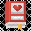 Romantic Novel Romantic Book Story Book Icon