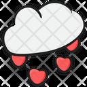 Romantic Rain Rainstorm Rainy Weather Icon