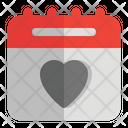 Romantic Schedule Icon