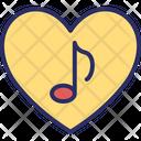 Quaver Romantic Music Romantic Song Icon