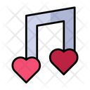 Romantic Song Icon