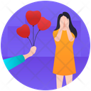 Romantic Surprise Icon