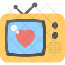 Tv Set Romantic Icon