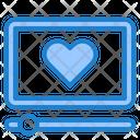Romantic Video Love Video Video Icon