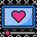 Romantic Video Icon
