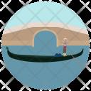 Rome Canoeing Icon