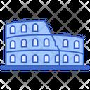 Rome Building Capital Icon