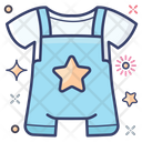 Baby Clothe Baby Outfit Baby Romper Icon