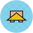 Roof Wooden Cabin Icon