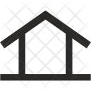 House Triangle Construction Icon