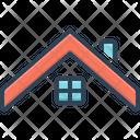 Roof Apartment Architecture Icon