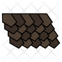 Roof Tile Top Icon