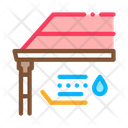 Roof Gutter System Icon