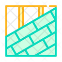 Roof Tiles Laying Icon