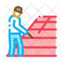Roofer Repair Roof Icon