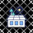 Garden Rooftop Green Icon