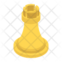 Rook Chess Piece Strategy Icon