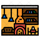 Room Living Table Icon