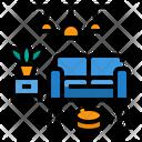Room Clean Vacuum Cleaner Icon
