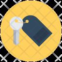 Room Key Keychain Icon