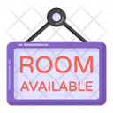 Room Available Hotel Board Hotel Sign Board Icon