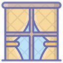 Room Curtain Icon